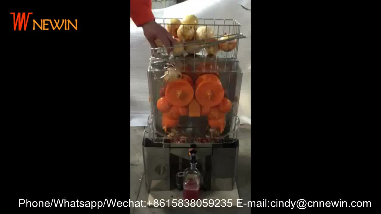 Durable Automatic Stainless Steel Fresh Orange Juicer