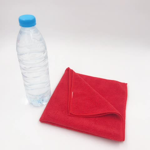 China factory microfiber cleaning cloth towel , Wholesale ultra thick plush microfiber cleaning cloth towel