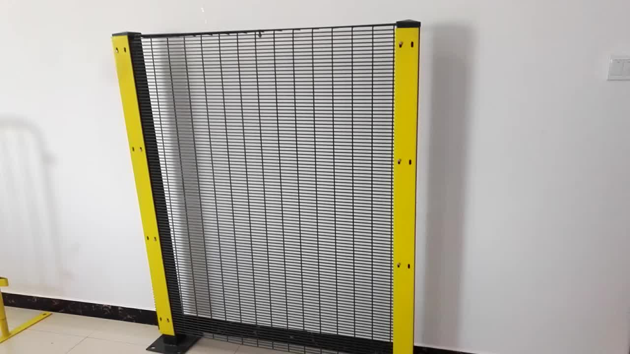 PVC Coated Anti-Climb 358 Welded High Security Fence