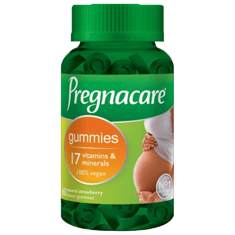 英国vitabiotics孕妇专用叶酸孕早中期维生素营养叶酸软糖60粒