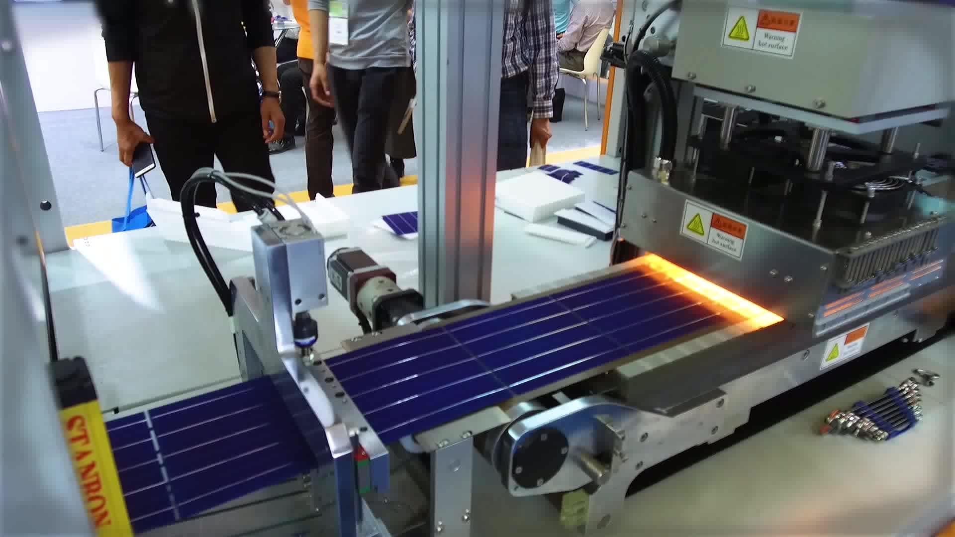 3BB/4BB/5BB/6BB Sunnyworld solar cell tabber stringer machine H1300