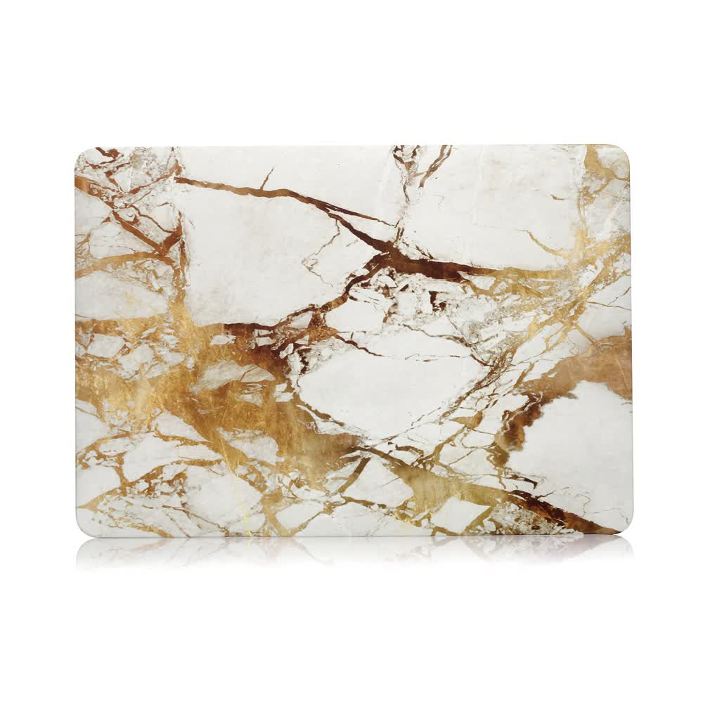 Water Transfer Printing Marble Case For Macbook Air 13 Pro 13 Retina 12 Air 11 Pro 15