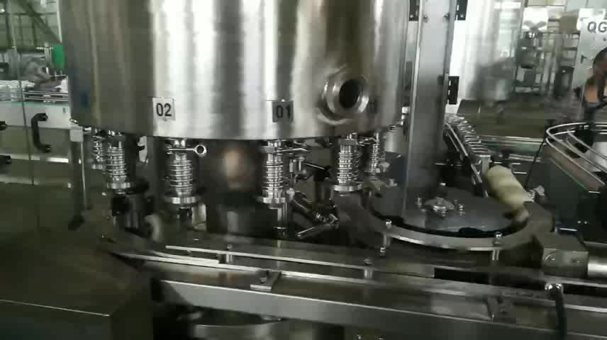 full automatic small scale can beverage filling capping machine,beer can filling machine price