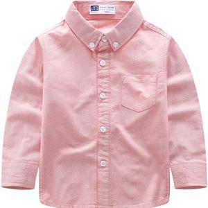 男童长袖春秋季新款儿童装纯棉衬衫