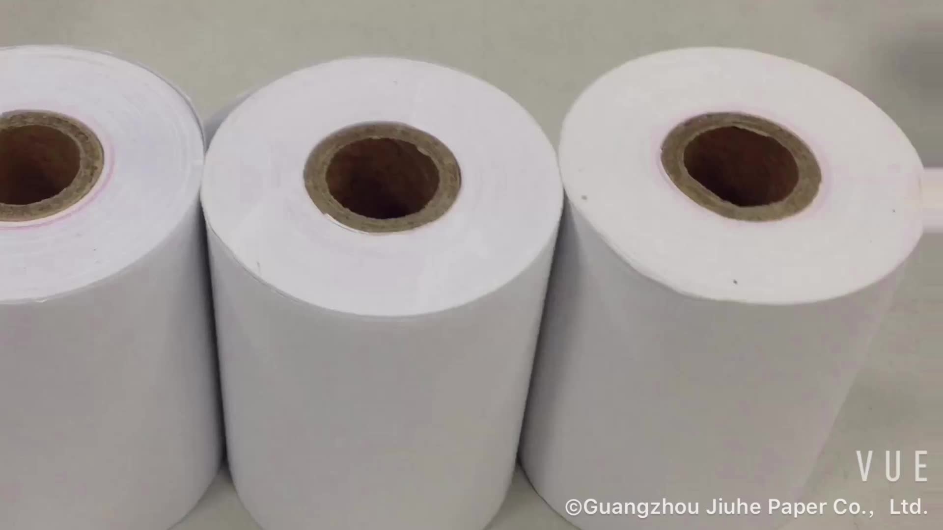 Jumbo rolo de papel térmico/cópia do recibo de aluguel/papel de transferência de calor para as notas de banco