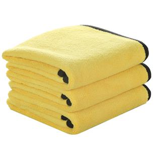 洗车毛巾擦车布专用抹布吸水