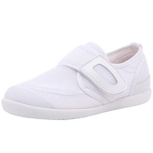 日本幼儿园小白鞋宝宝室内男女童学生布鞋2021秋季新款儿童运动鞋
