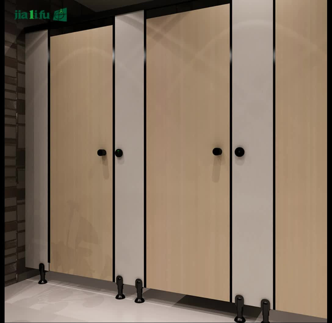 5 years warranty hpl panel toilet cubicles partition