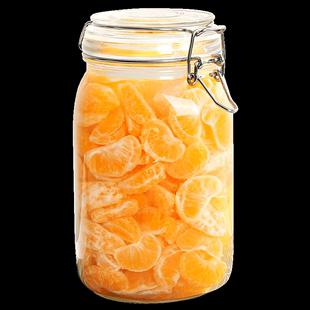 玻璃瓶子带盖食品级小号家用密封罐