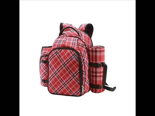 Stool backpack for picnic with anti theft & practical