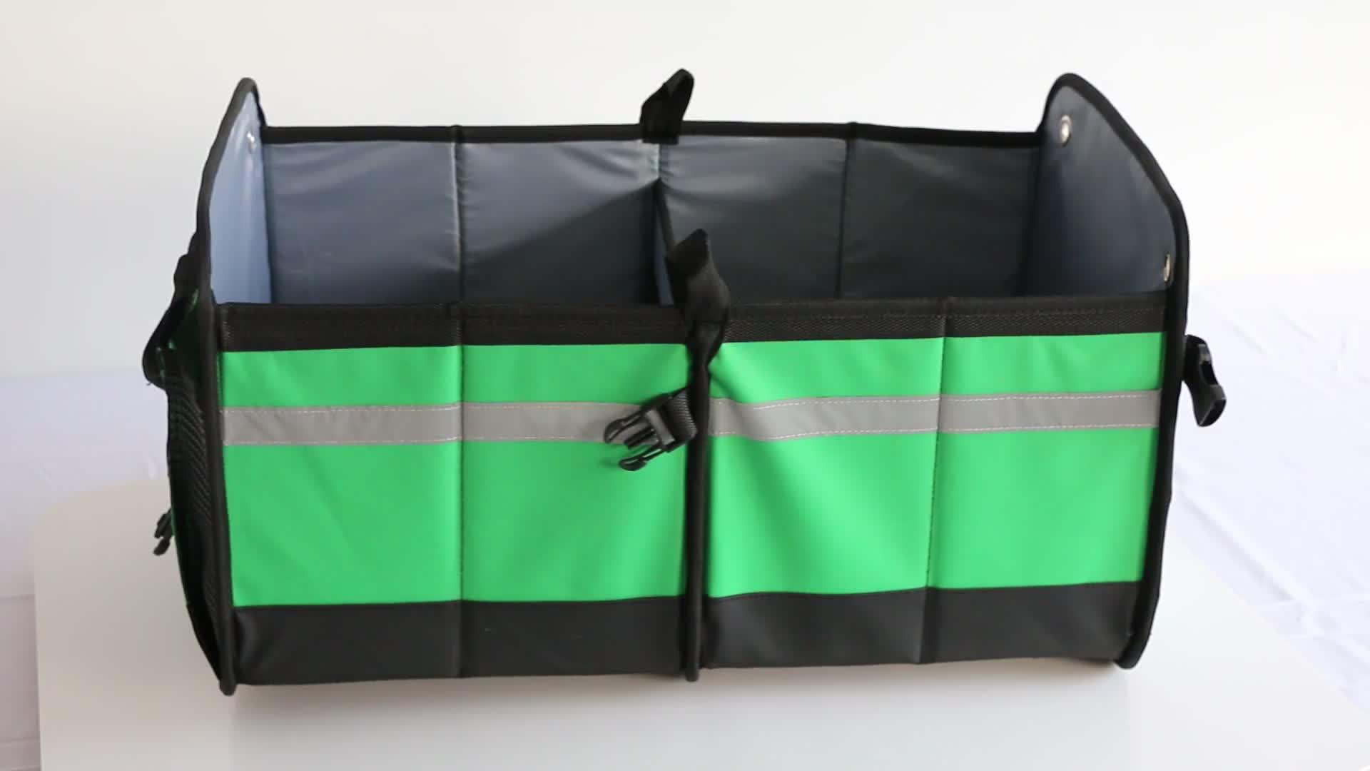 Collapsible Senior Cargo Storage Container Trunk Cargo Organizer Folding Auto Car Trunk