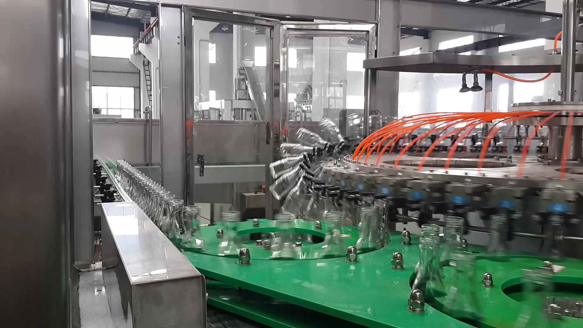 Automatic beer bottling machine By Glass Bottle