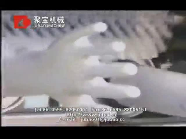 JB-SBA wegwerp latex handschoen apparatuur voor medisch onderzoek