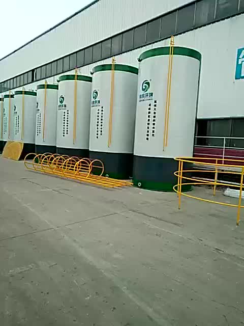 PENGKAI Automatic Integrated Community Water Purification Residential Wastewater Treatment Plant