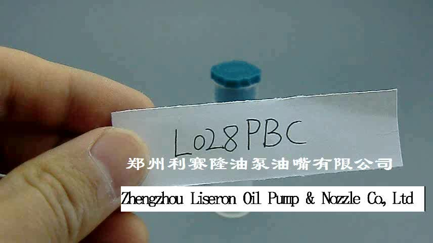 ERIKC L028PBC Common Rail Nozzle L028PBC ALLA152FL028 Injector Repair Parts EJBR01701Z