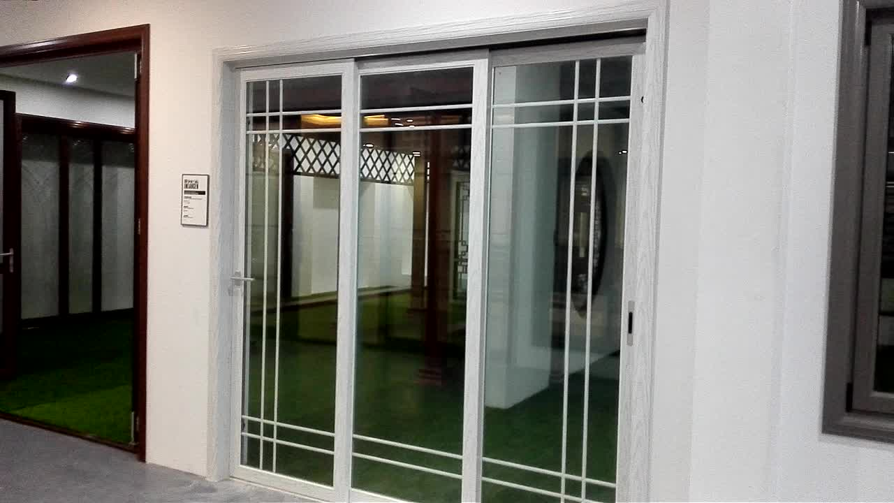High Performance Weather Resistant Glass Sliding Doors For Sale