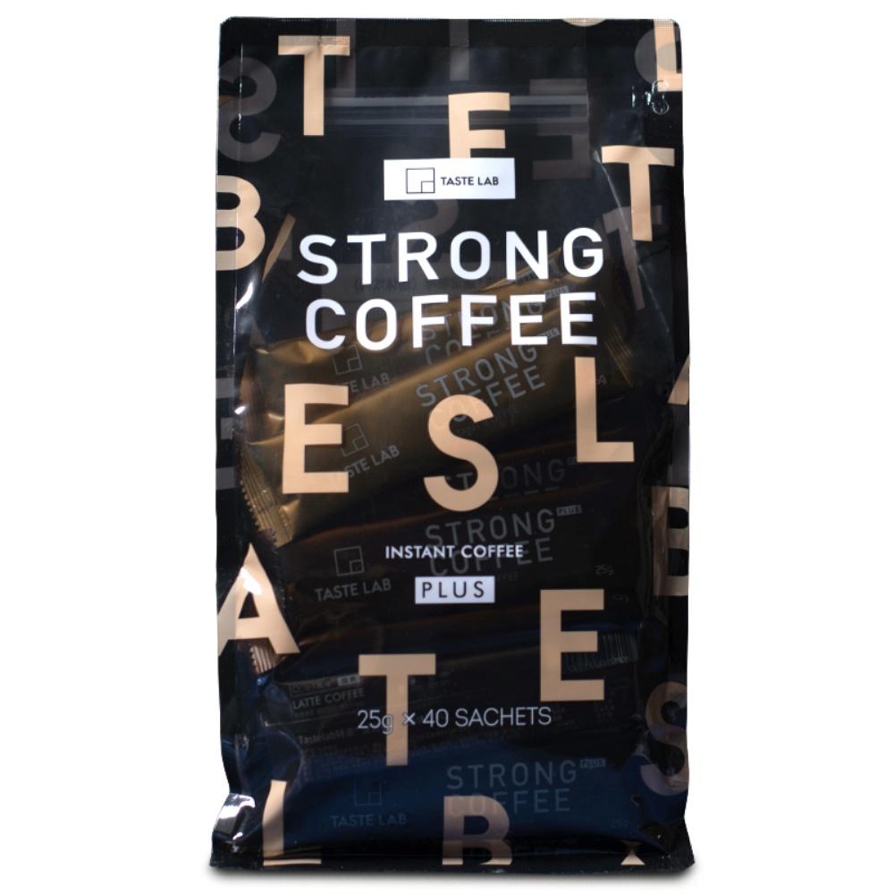进口Tastelab小T三合一特浓拿铁咖啡速溶40条装提神咖啡