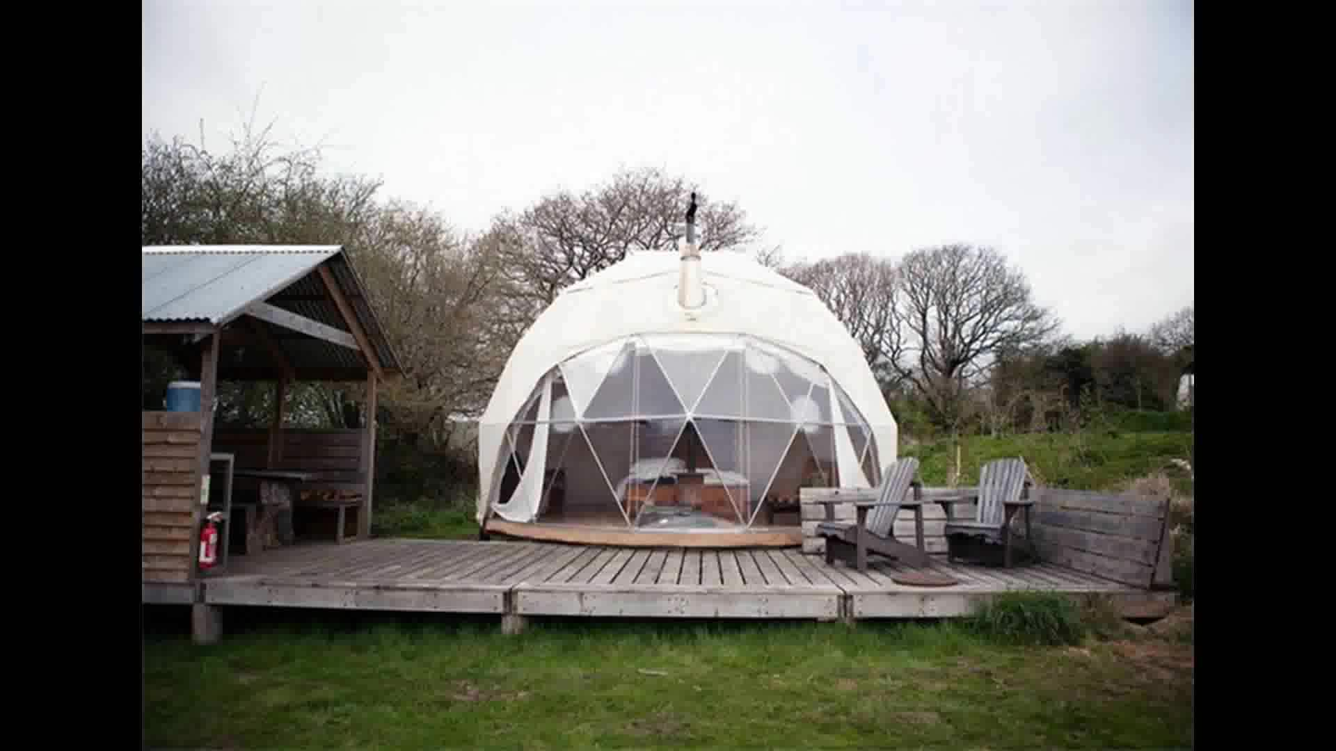 2017 Shelter Structures Pvc Cover Metal Frame Geodesic