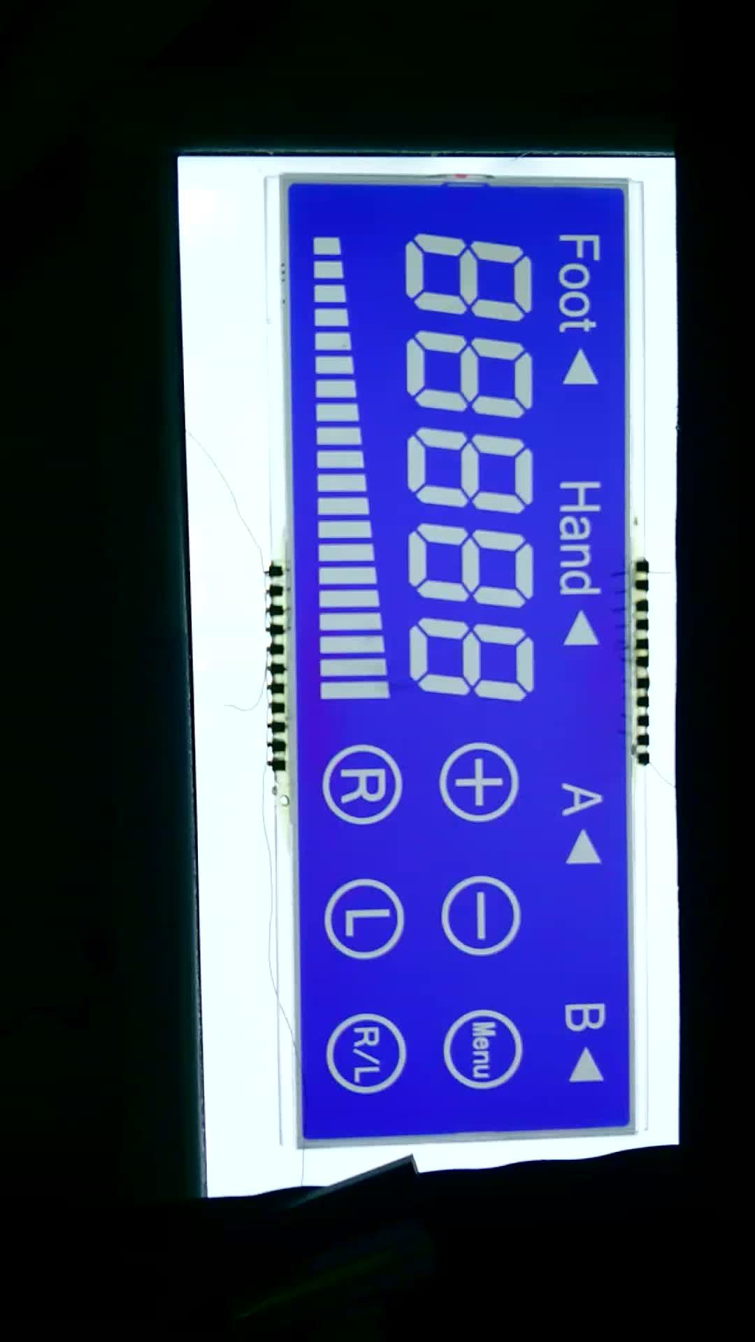 Bleu Écran LCD 16x2 Caractères et 7 Segments Affichage Panneau D'AFFICHAGE À CRISTAUX LIQUIDES Pour Radio