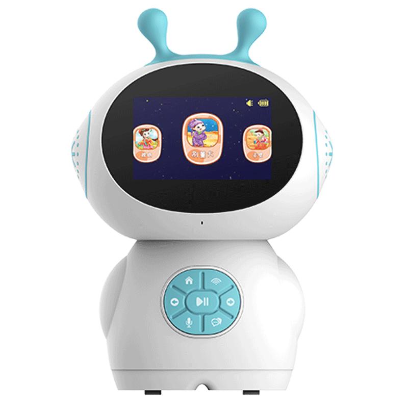 超智能AI儿童早教机行走跳舞机器人