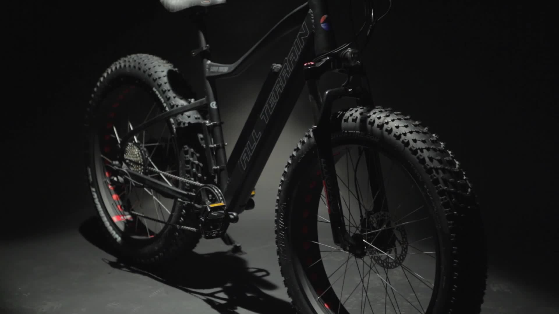 High configuration electric mountain bike with Bafang M600 Central motor