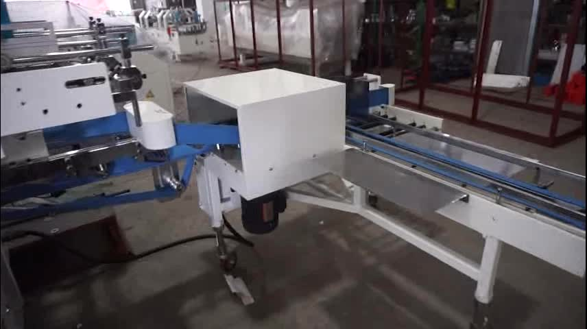 ZH-500NS Folding gluing machines China automatic carton box collecting folder gluer machine