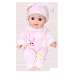 仿真女孩軟硅膠睡眠眨眼娃娃玩具