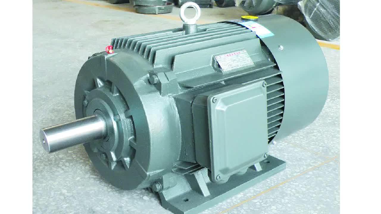 3 fase ad alta efficienza CORRENTE elettrica di CA del ingranaggi del motore del motore del motore a induzione
