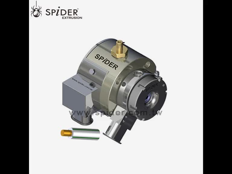 wire cable fixed centering Single layer extrusion crosshead