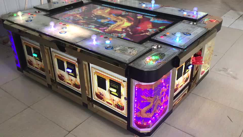 King Of Treasures Arcade Game Fish Game Table Gambling For