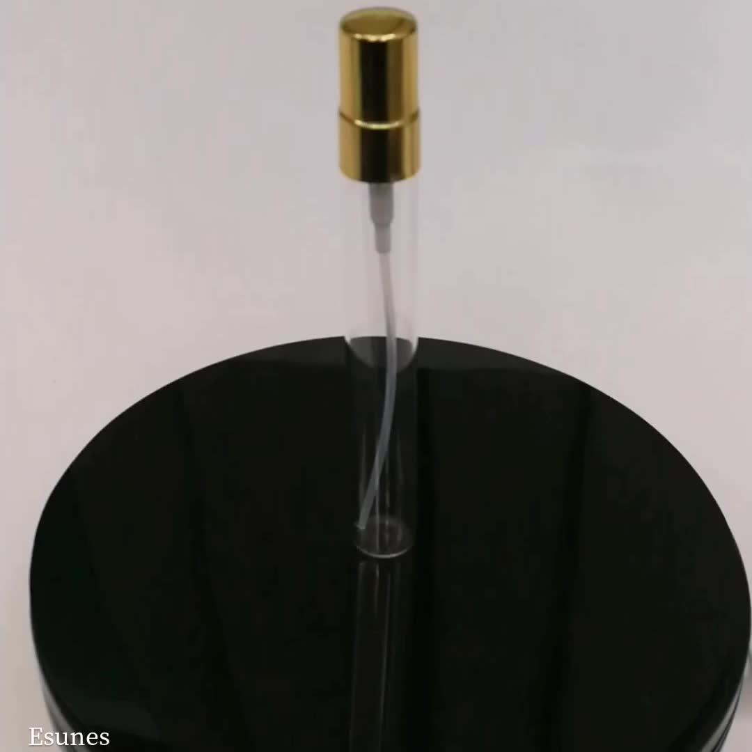 卸売5ミリリットル10ミリリットルポータブル詰め替え香水スプレーガラス瓶で紙箱パッケージ