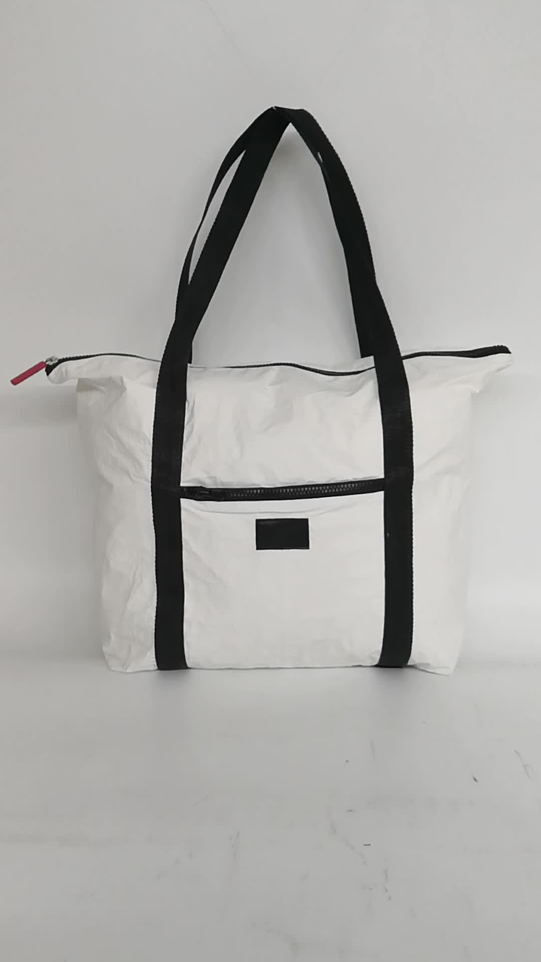 washnable paper bag waterproof shopping tote bags tyvek bag