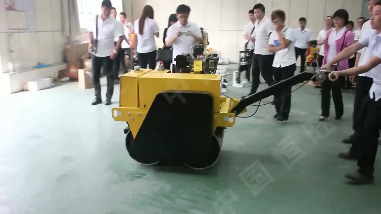 Small Road Roller Vibrator Compactor / used Hand Asphalt Roller SYW-65