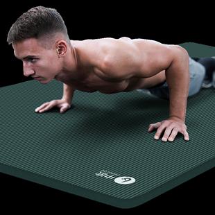 中欧男士健身垫初学者瑜伽垫子地垫