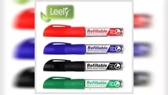 0049C refillable whiteboard marker pen with alcohol base dry erasable leery marker