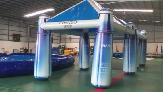 Portable Exhibition Tents : Guangzhou new design commercial inflatable party tent