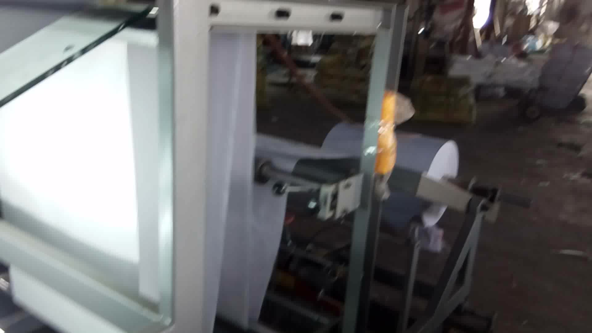 Plastic bag cutting machine polythene bag cutting machine
