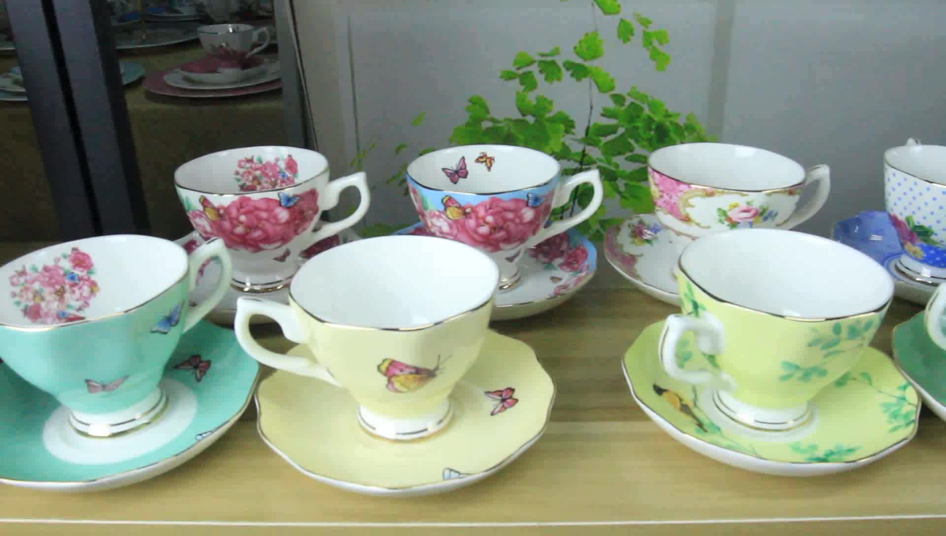 China Factory Wholesale Coffee Tea Cup And Saucer,Fine Ceramic Cup And Saucer - Buy Cup And ...
