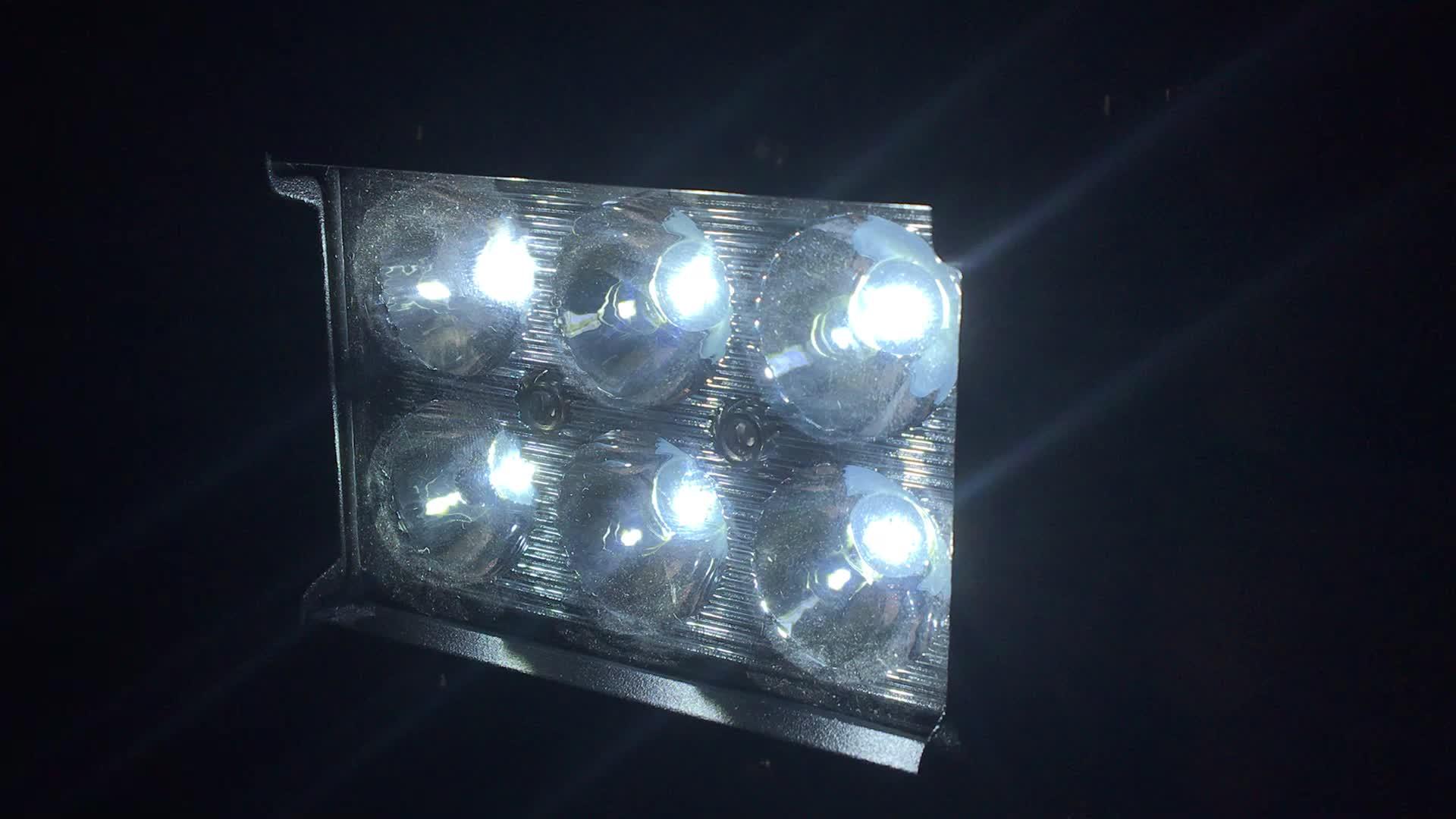 Nicht für den Straßenverkehr 4x4 LED Lichtbalken 12v 24v LED Auto Licht Marine Zubehör 18w LED Arbeitslicht