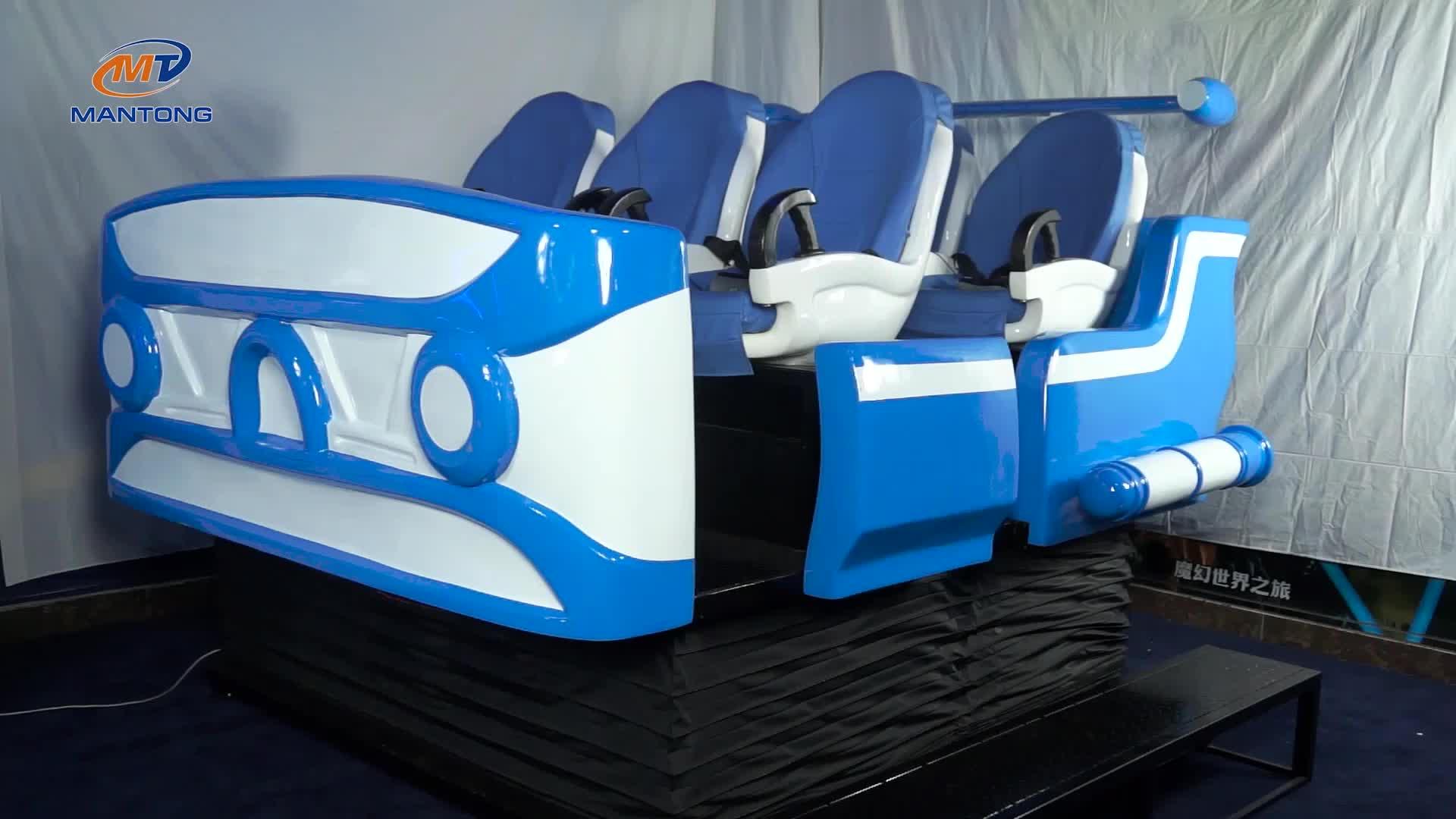 Virtual reality game machine 9d vr cinema virtual reality simulator for sale