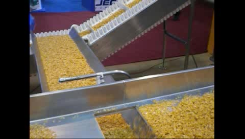 mini long Horizontal FastBack Motion Conveyor for easy fragile material packing project system line