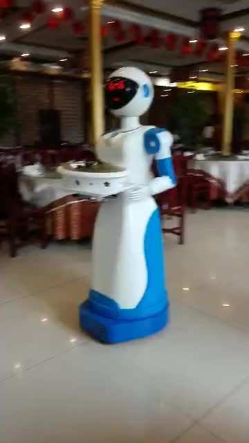 robot restaurant waiter robot intelligent for delivery the food made in china