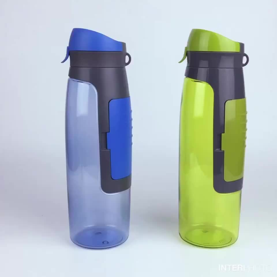 Sports Bottle With Storage Compartment: Sports Water Bottle Wallet With Storage Box Portable Enjoy
