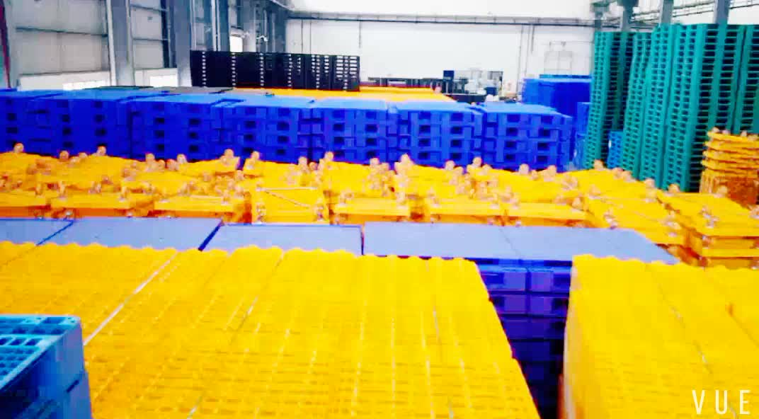 2018 hot sale 1200x1000 mm steel reinforced Plastic Pallet with sides