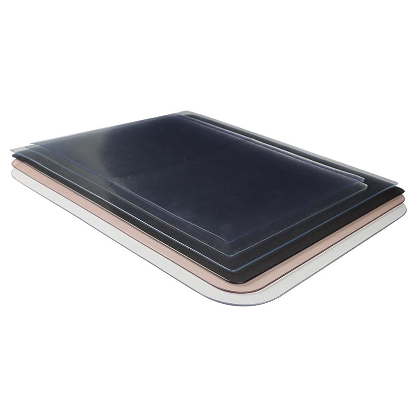 无味餐桌垫pvc防水加厚圆形垫桌布质量可靠吗