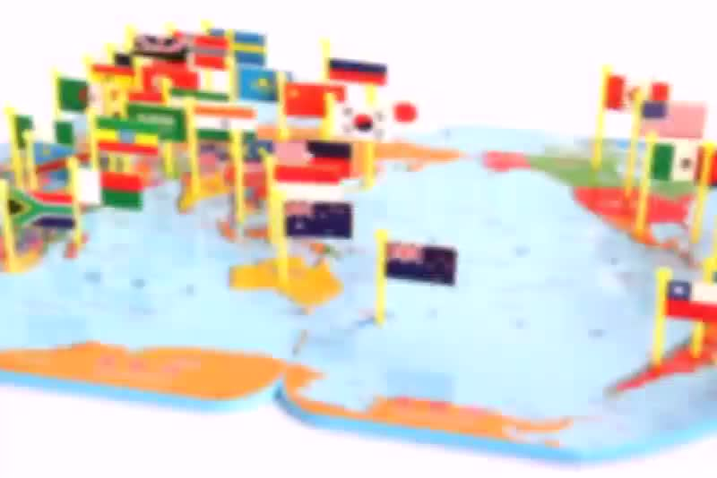World map toy children awareness national flags three dimensional world map toy children awareness national flags three dimensional puzzle educational toys gumiabroncs Image collections
