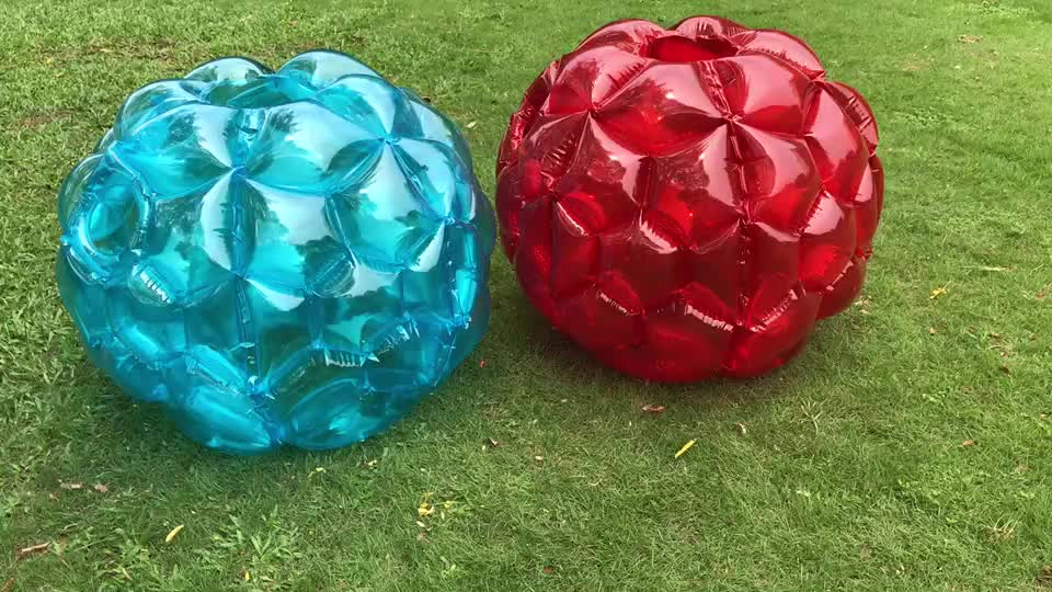 factory price bubble football inflatable bumper balls