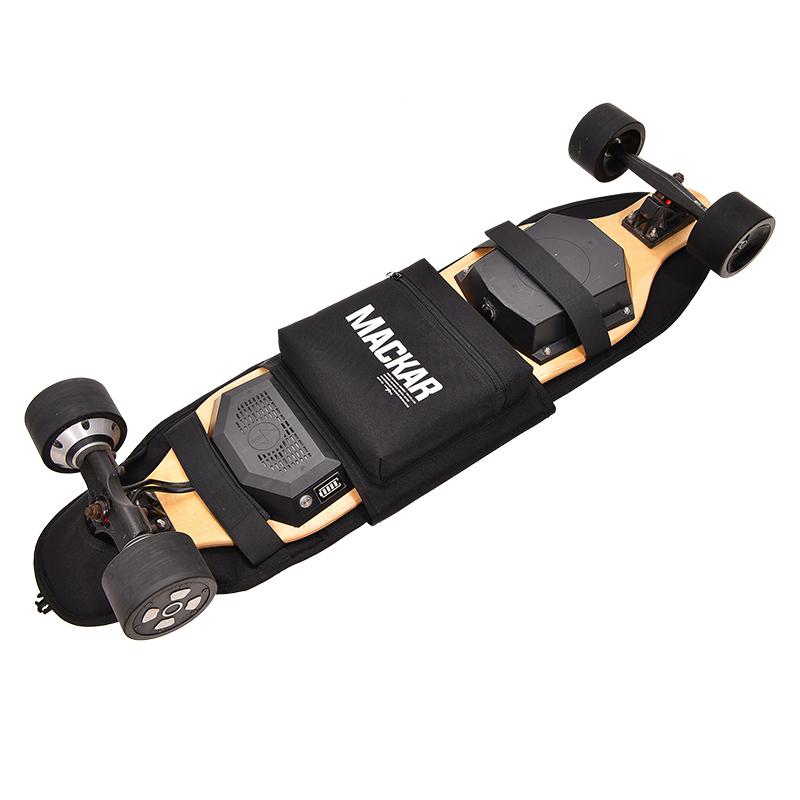 潮牌mackar电动滑板包街头双肩包