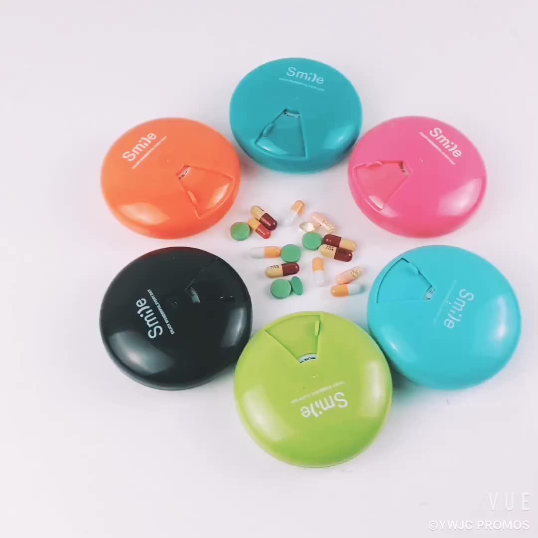 Stock recyclable pill box with many color for your choose