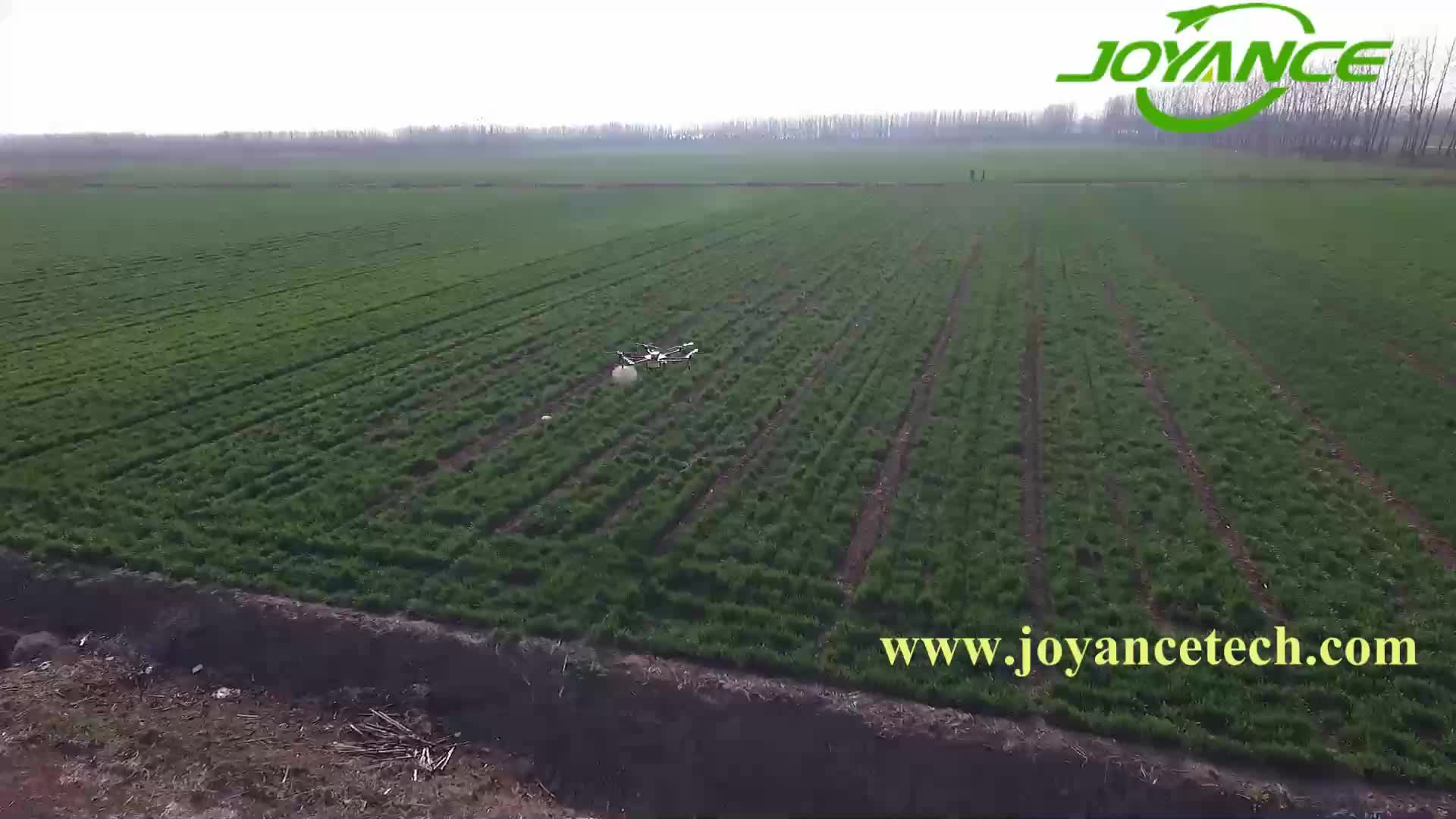 Joyance 15kg payload fumigation drone remote control sprayer drone agriculture sprayer